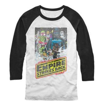 Empire Strikes Back Baseball Tshirt
