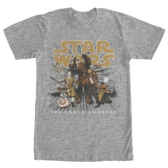 The Force Awakens Resistance Crew Tshirt